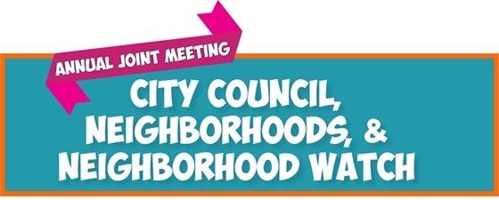 Neighborhoods Joint Meeting