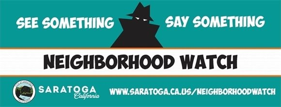 City of Saratoga Neighborhood Watch
