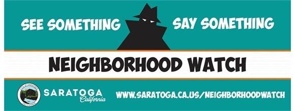 City of Saratoga Neighborhood Watch