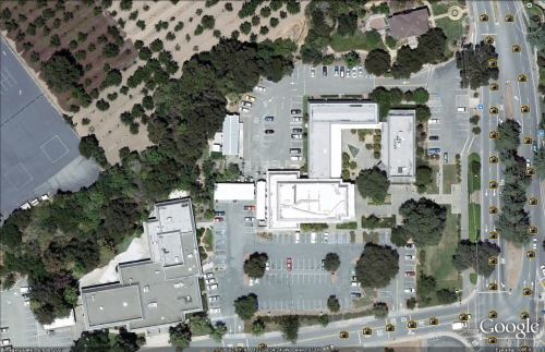 Google Earth of Civic Center